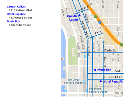 Little Italy San Diego Map.Maps Downtown San Diego Live